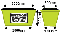 Skip Bin Sizes sunshine Coast
