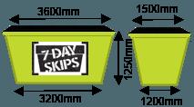 Skip bin sizes sunshine Coast